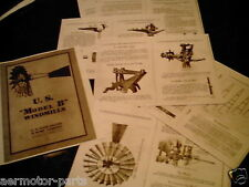 USWE  Model B  Windmill Diagrams & Trade Literature