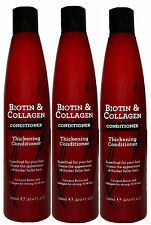 3 x 300ml Biotin & Collagen Thickening Conditioner - Superfood For Your Hair