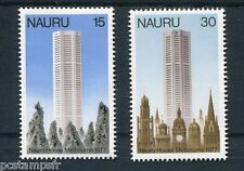 NAURU, 1977, timbres 147/148, ARCHITECTURE, HOUSE MELBOURNE, neufs** MNH STAMPS