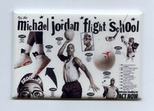MICHAEL JORDAN / FLIGHT SCHOOL - MINI POSTER FRIDGE MAGNET (vintage nike air vi)