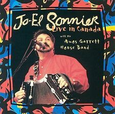 LIVE IN CANADA - JO-EL SONNIER WITH THE AMOS GARRETT HOUSE BAND CD