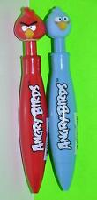 ANGRY BIRDS MOVIE PENS BALL POINT CLICKER PENS BLUE RED BIRDS FUN SCHOOL SUPPLY