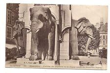 chambéry  fontaine des éléphants ou de boigne