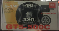 "JBL 13cm 5.25"" 5"" Car/Van 120W Door Components Speakers Set Tweeters Mids"