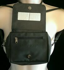 Gray Mary Kay Purse with Mirror and long strap crossbody