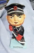 1960's 50's Baltimore Clippers Hockey Bobble Head Doll Japan Paper Mache Nodder