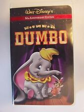 Walt Disney's Dumbo (60th Anniversary Edition) VHS Video Tape