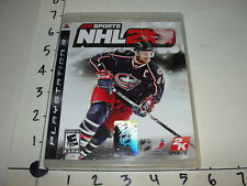 NHL 2K9 / Sony Playstation 3 (PS3) - 2K Sports - Rick Nash cover Playoff BEARDS!