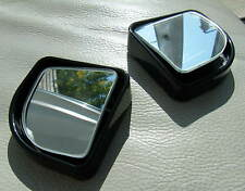Car Wide Angle Blind Spot Mirror 42x42mm Swivel Adjustable View Pair Brand New