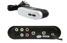 RF Moduator S-Video/RCA Audio Converter For DVD/VCR Player/Cable Box/Game System