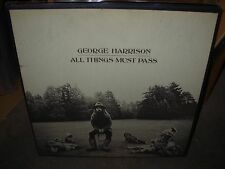 GEORGE HARRISON / BEATLES all things must pass ( rock ) apple box - POSTER - TOP