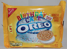 NEW Nabisco Oreo Birthday Cake Flavor Creme Cookies Limited Edition Free Shippin