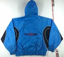 Vintage FUBU TEC The East Cave Windbreaker JACKET Mens XL Hip Hop Polo 2000's