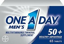 One A Day Men's 50+ Advantage Multivitamins, 65 Each