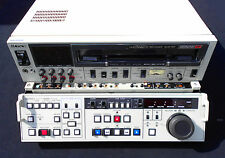 SONY BVW-70P Betacam SP Video Recorder Editor Player - MAZ Studio PAL