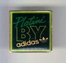 RARE PINS PIN'S .. SPORT CHAUSSURE SHOES SPORTWEAR ADIDAS FOOTBALL PLATINI ~CM