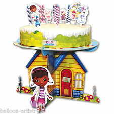 19 Piece Disney Doc McStuffins Party Birthday Cake Picks Candles Decorating Kit