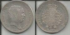 NAPOLI PIASTRA DA 120 GRANA 1825 FRANCESCO I