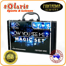 "Fantasma Magic's ""NOW YOU SEE ME 2"" Special Movie Edition Magic Kit 150+ Tricks"