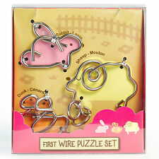 """Eureka First Wire Puzzle Set """"Animal 1"""""""