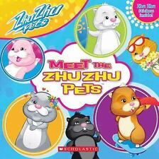 Zhu Zhu Pets: Meet the Zhu Zhu Pets, Scholastic, 0545251923, Book, Good