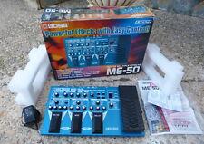 BOSS ME-50 Multiefectos Guitarra eléctrica. En caja, con manuales.