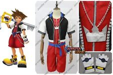 Kingdom Hearts 2.5 HD Remix Sora Cosplay Costume Ver.2 Helloween