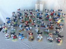 """Schmid & Enesco Set of 64 Mickey Mouse Bisque Figurines 3""""- 4"""" - EXCELLENT COND."""
