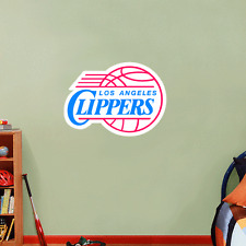 "Los Angeles Clippers NBA Basketball Wall Decor Sticker Decal 25"" x 18"""