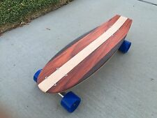 "Mini Cruiser Skateboard - Paloma ""Mini Croozer"" with Kicktail 22x7"