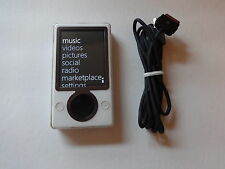 MICROSOFT  ZUNE  WHITE  CUStOM  128GB SSD DRIVE...NEW  BATTERY...