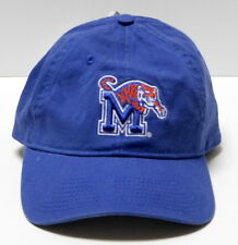 University of Memphis Tigers UofM NCAA Blue Cotton Cap Hat Strapback NWT