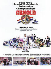 The Fourth Annual Arnold World Gracie Submission Championships (DVD, 2004)