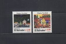 El Salvador 1996 Christmas Sc 1452-1453  Mint Never Hinged