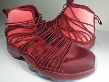 Nike Air Zoom Cabos Unreleased Sample Red Maroon Clear Sole SZ 9 (845058-600)