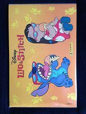 Panini 2002 Disney Lilo & Stitch Complete Stickers Set Album + CD Trailer