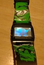 Vtg Star Wars Attack of the Clones watch, reversible band running new battery  J