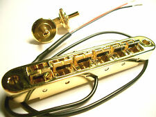 Schaller GTM Piezo Tunomatic Bridge gold