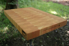Cherry End Cutting Board Butcher Block USA