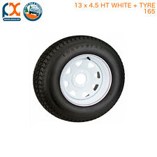 13x4.5 165 HOLDEN HT WHEEL RIM AND TYRE SUNRAYSIA TRAILER CARAVAN BOAT 14L TRUCK
