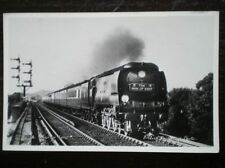 POSTCARD RP WEST COUNTRY CLASS LOCO 'THE MAN OF KENT' TRAIN