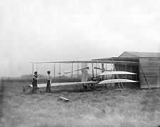 8x10 Photo Wilbur and Orville Wright with their Second Powered Flying Machine-