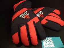 Thinsulate Thermal Insulation Rain Repeller CHICAGO BULLS GLOVES BLACK RED L XL