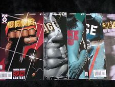 Cage #1-4 (2002) Complete Full Set VF/NM New Netflix Show! Nice!