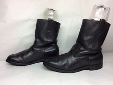 MENS MASON WESTERN WORK LEATHER BROWN BOOTS SIZE 9 D