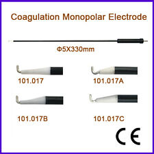 Coagulation Monopolar Electrode 5X330mm L Hook Type Laparoscopic Laparoscopy End