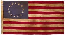 The USA Flag Vintage New 13-Star 3 x 5 Foot Antique American Cotton Made in USA