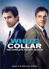 White Collar: The Complete Fourth 4th 4 Season (DVD, 2013, 4-Disc Set) NEW