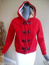 Old Navy Red Heavy Lined Sweatshirt Hooded Coat Jacket Size Small S 4 @ cLOSeT