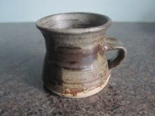 Studio Pottery - Small Rustic Mug - Signed
